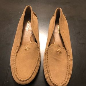 Suede Coach Loafers